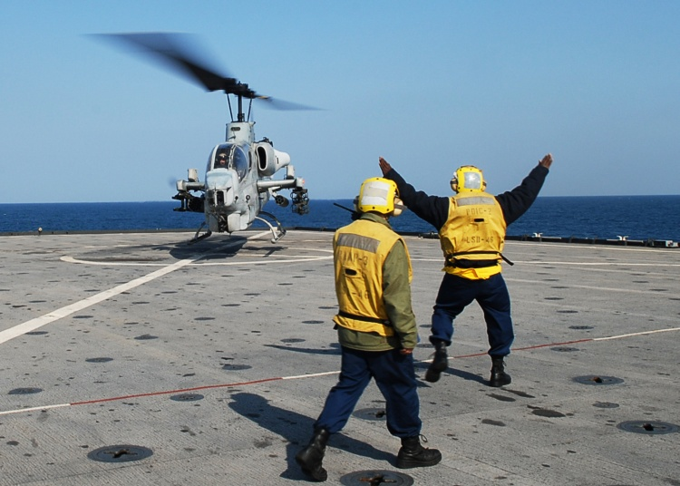 Image: U.S.M.C. AH-1W Helicopter