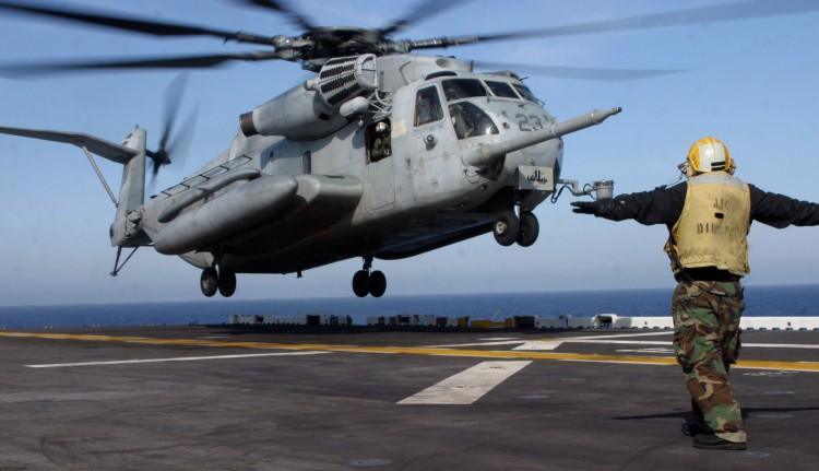Image: USMC CH-53E Super Stallion Helicopter